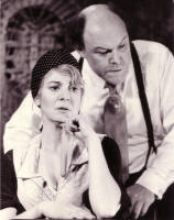 With Timothy West in 'Brass'